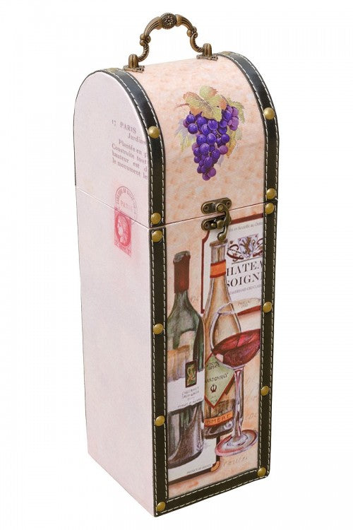 Wine Bottle Carrier - Grape