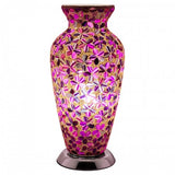 Purple Flower Tile Mosaic Lighting