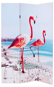 Giant Flamingos Double Sided Room Divider