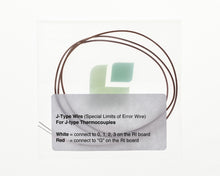 Load image into Gallery viewer, Thermocouple Splicing Wire J-Type (SLE) 1m/3ft