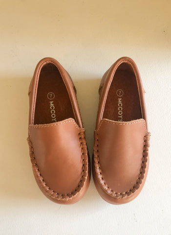 Caramel Classic Loafers