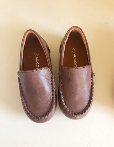 Chocolate Classic Loafers