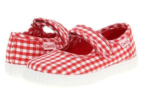 Cienta Mary Jane - Red Gingham