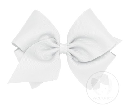 King Classic Grosgrain Bow