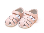 Christie Leather Fisherman Sandal - Light Pink