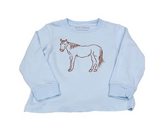 Light Blue Horse | Long Sleeve