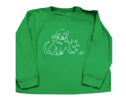Christmas Puppy | Long Sleeve