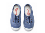 Cienta Sneaker - Distressed Denim