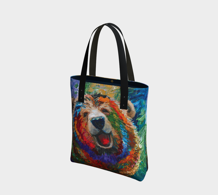Joyful Vibrant Tote Bag