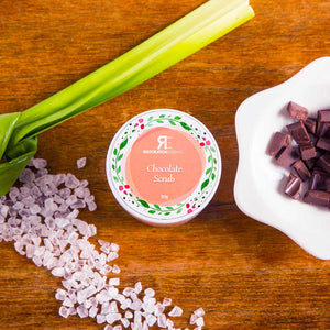 Pandan Chocolate Sugar Scrub