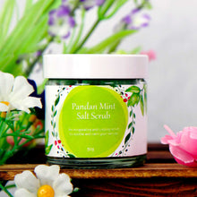 Load image into Gallery viewer, Pandan Mint Salt Scrub