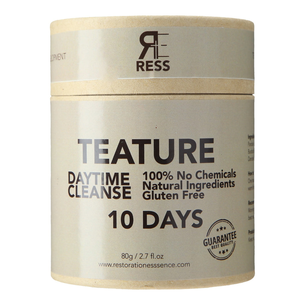 Teature 10 Days Detox - Day Time Cleanse