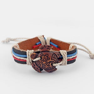 """Tribal Turtle"" Unisex Bracelet"