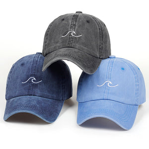 """Simple Wave"" Baseball Hat"