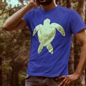 """Simple Sea Turtle"" Graphic Tee"