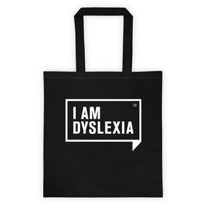 I Am Dyslexia Tote bag