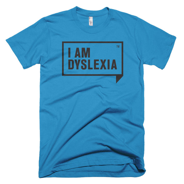 I Am Dyslexia Black Logo T-Shirt