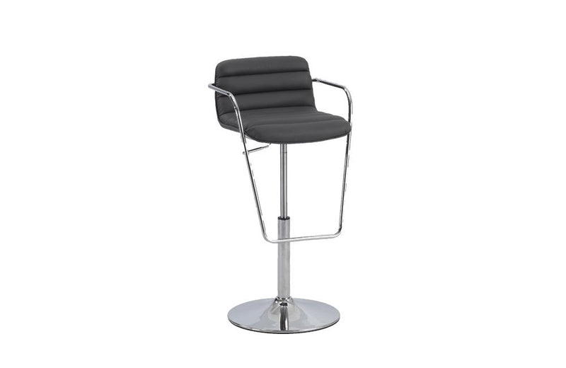 Cadoc Adjustable Stool Gray