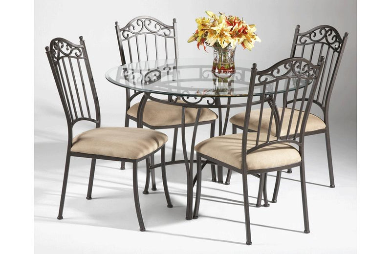 Abramo 5 PC Round Table Set