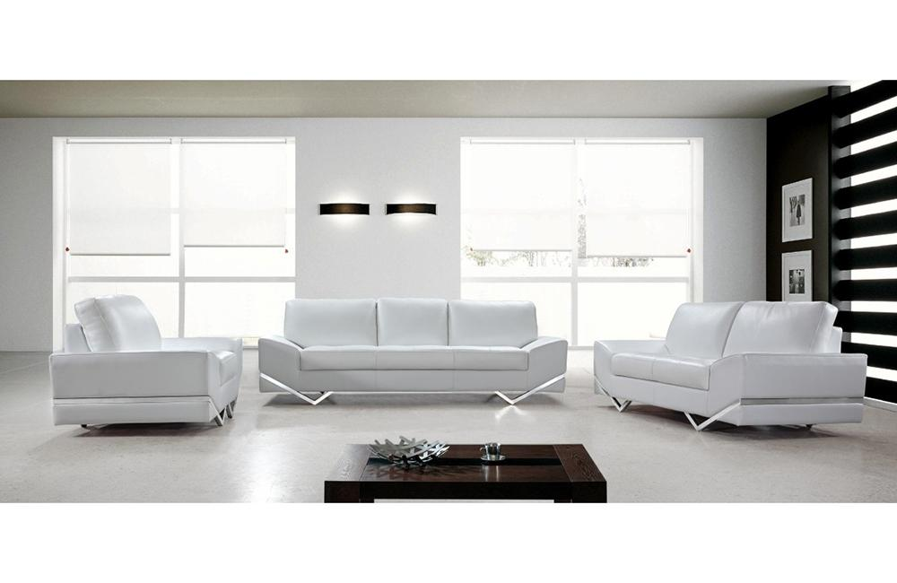 Adalynn White Modern Sofa Set - Paramus Mega Furniture
