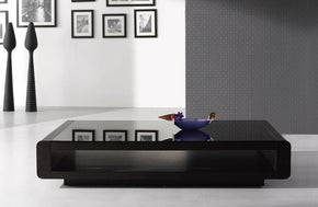 673 Brown Modern Coffee Table
