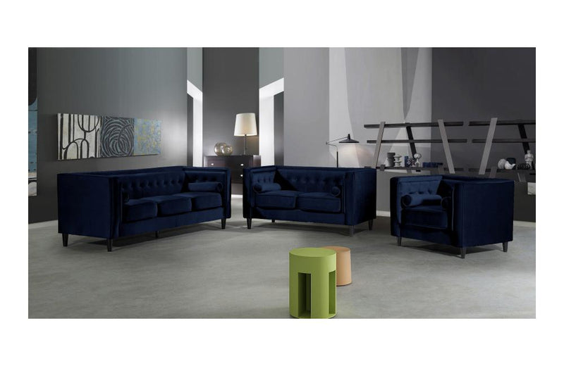 Beech Navy sofa set