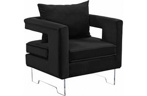 Macen Black Chair
