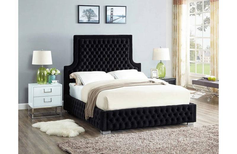 Eada Black Bed