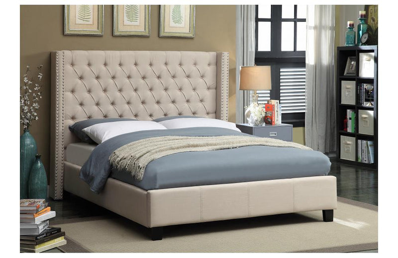 Cace Beige Bed