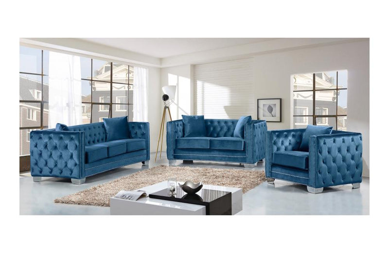 Destry Light Blue sofa set