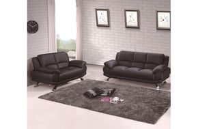 Adonia 2PC Living Room Set Black