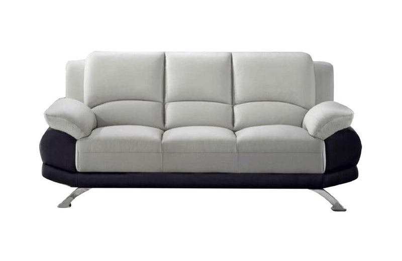 Adonia Sofa Gray and Black