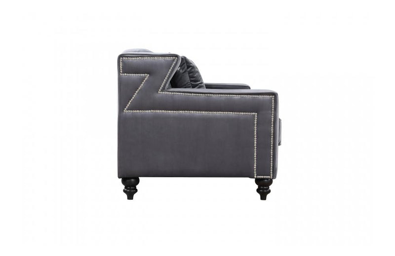 Callie Grey Love Seat