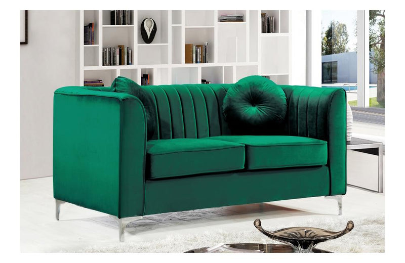 Brooke Green Love Seat