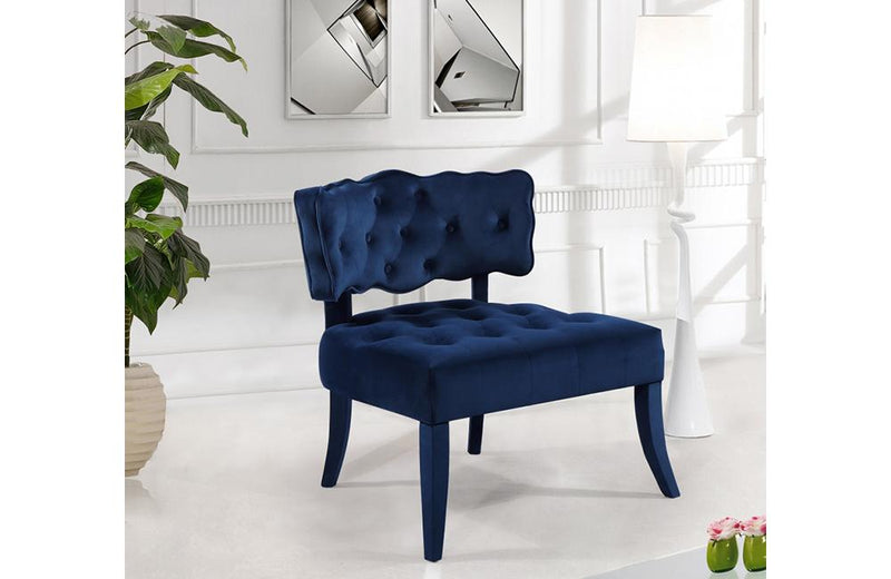 Elberta Navy Chair