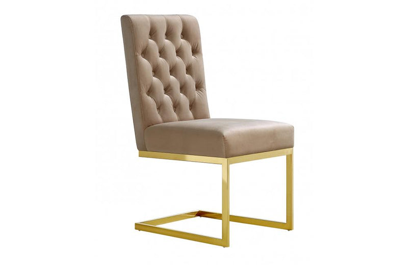 Kelby Beige Dining Chair