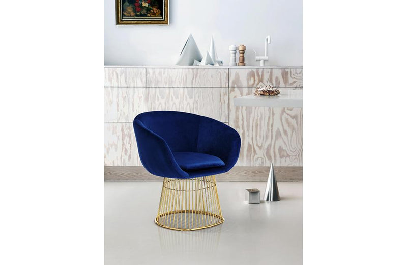 Gehry Navy Chair