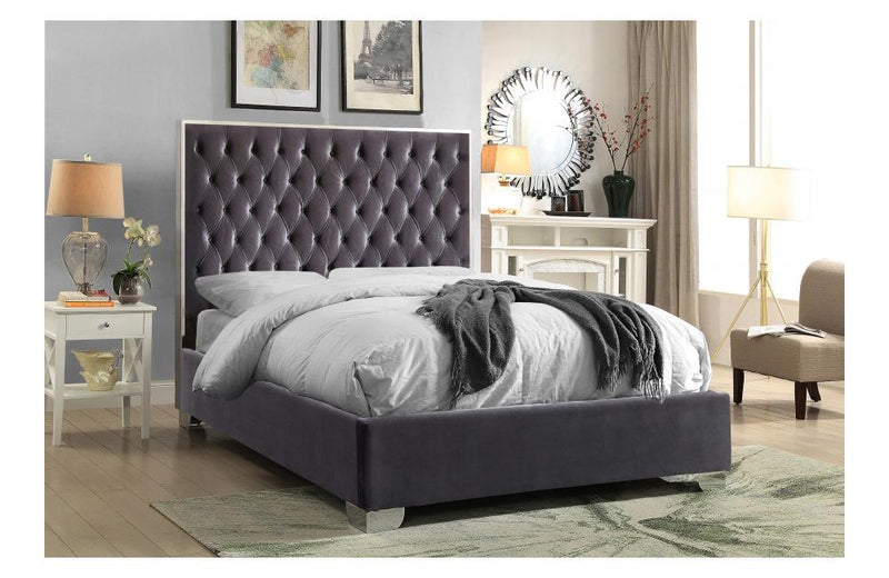 Dagon Grey Bed