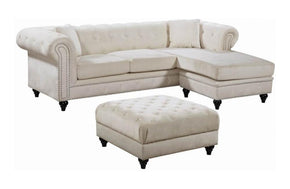 Birdie Cream Sectional Sofa