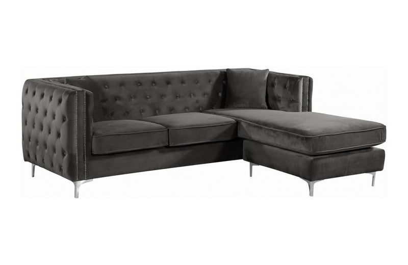 Cady Grey Sectional Sofa