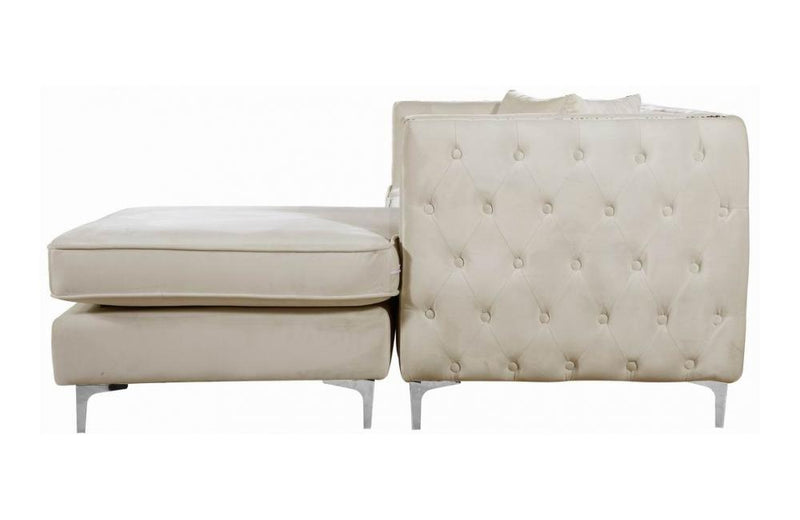 Cady Cream Sectional Sofa