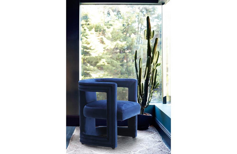 Shade Navy Chair