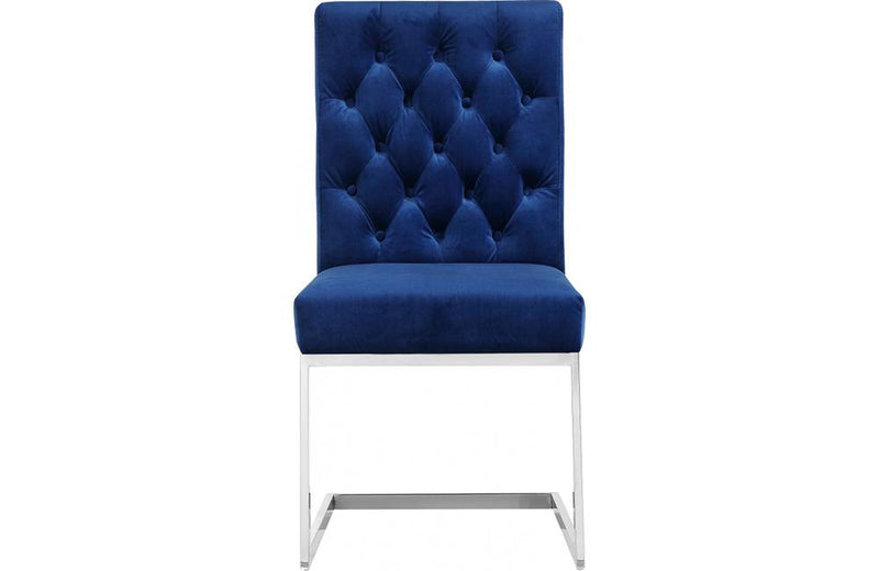 Busby Navy Dining Chair