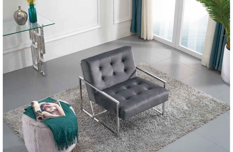 Corliss Grey Chair