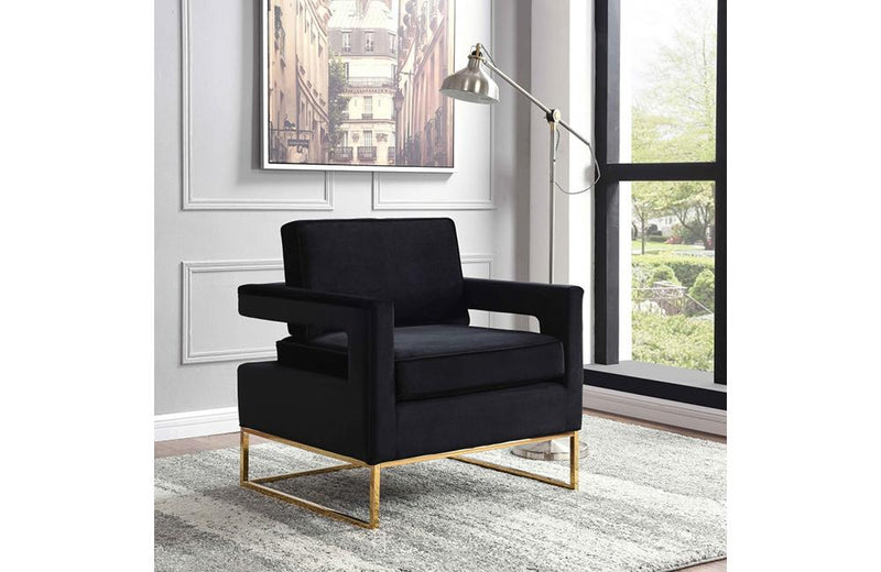 Cicely Black Chair