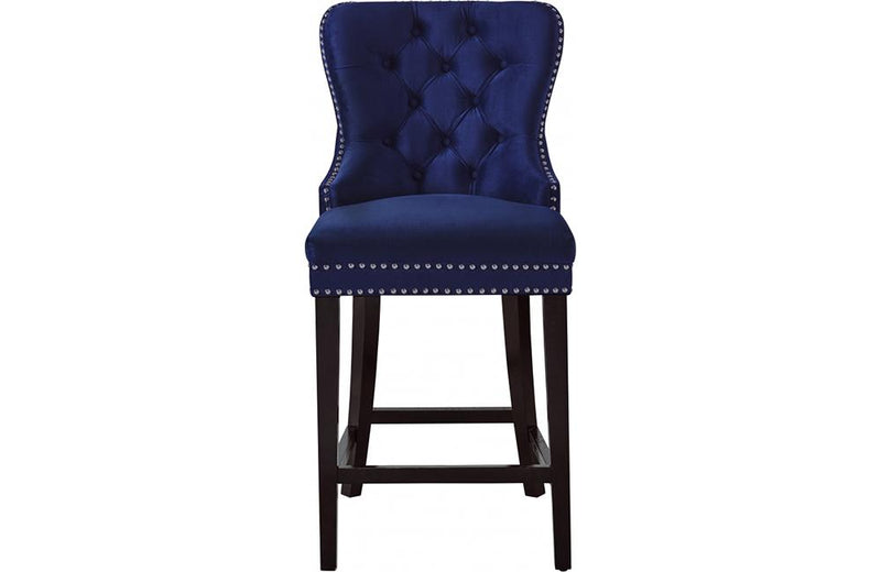 Abella Navy Bar Stool