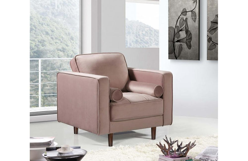 Alfreda Pink Chair