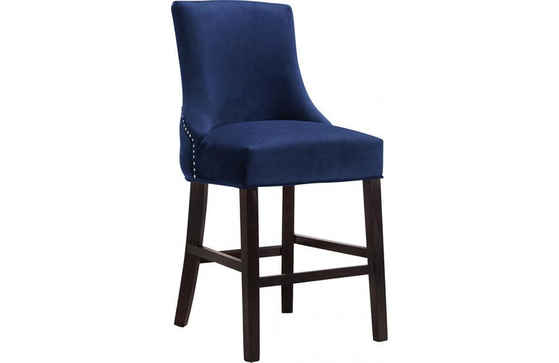 Abri Navy Bar Stool