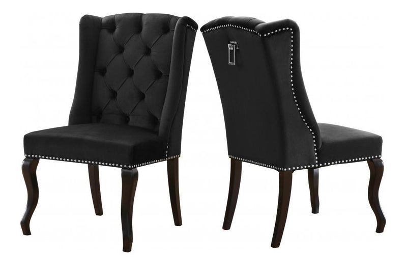 Bernardo Black Dining Chair