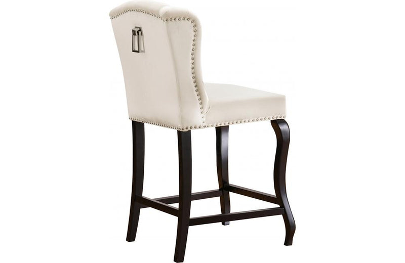 Abir Cream Bar Stool